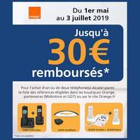 Offre de Remboursement Alcatel : Jusqu'à 30€ Remboursés sur Téléphone chez Orange