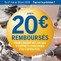 Offre de Remboursement Bosch : Jusqu'à 20€ Remboursé sur Dremel