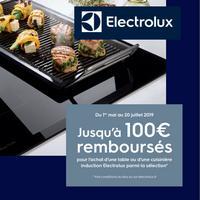 Offre de Remboursement Electrolux : Jusqu'à 100€ Remboursés sur Table ou Cuisinière Induction