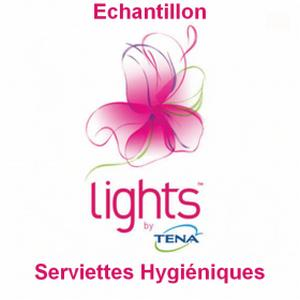 Echantillon Tena : Serviettes Hygiéniques Lights - anti-crise.fr