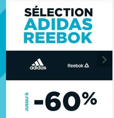 GoSport : jusqu'à 60% de réduction sur Adidas Reebok