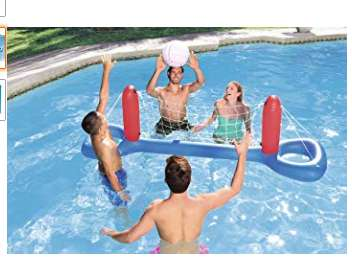 4,99€ le filet de volley Bestway pour piscine