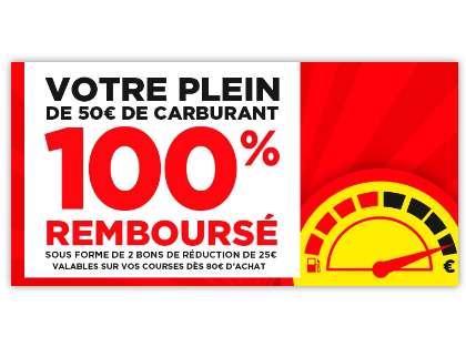 Casino :  50€ de carburants remboursés en bons d'achats