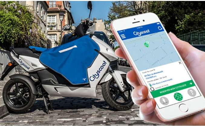 CityScoot Paris, Nice : locations de scooters à moitié prix