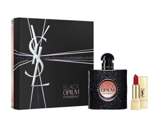 66€ le coffret Yves Saint Laurent Black Opium 50ml