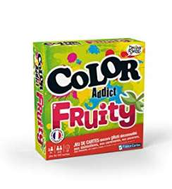 6.99€ les jeux Color Addict, Fruity , Kidz