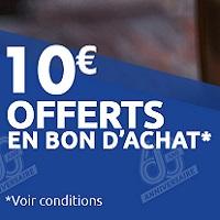 Carrefour : Bon d'Achat de 10€ par tranche de  30€ d'Achats sur les Champagnes (10 – 15 decembre)