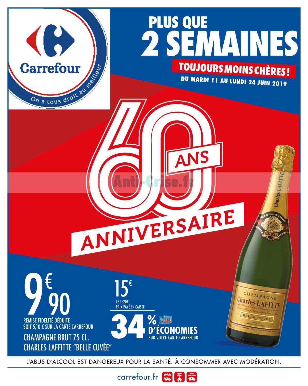 Catalogue Carrefour du 11 au 24 juin 2019 (Anniversaire 3)
