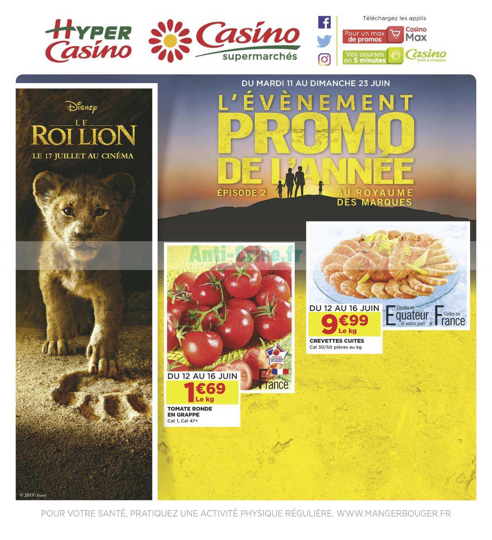 Catalogue Casino du 11 au 23 juin 2019