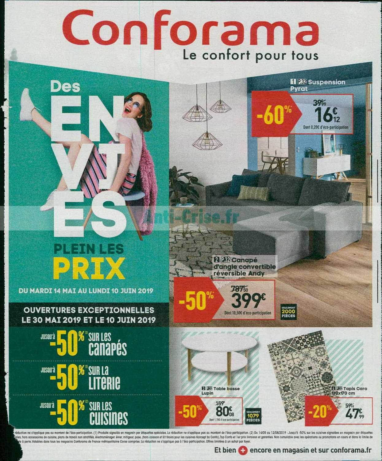 Catalogue Conforama du 14 mai au 10 juin 2019 - Catalogues ...