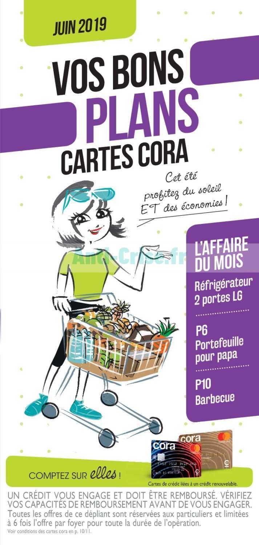 Carte Cora Fonctionnement.Catalogue Cora Du 01 Au 30 Juin 2019 Avantages Cartes