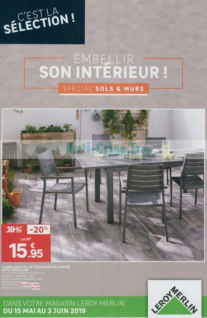 Catalogue Leroy Merlin Du 15 Mai Au 03 Juin 2019