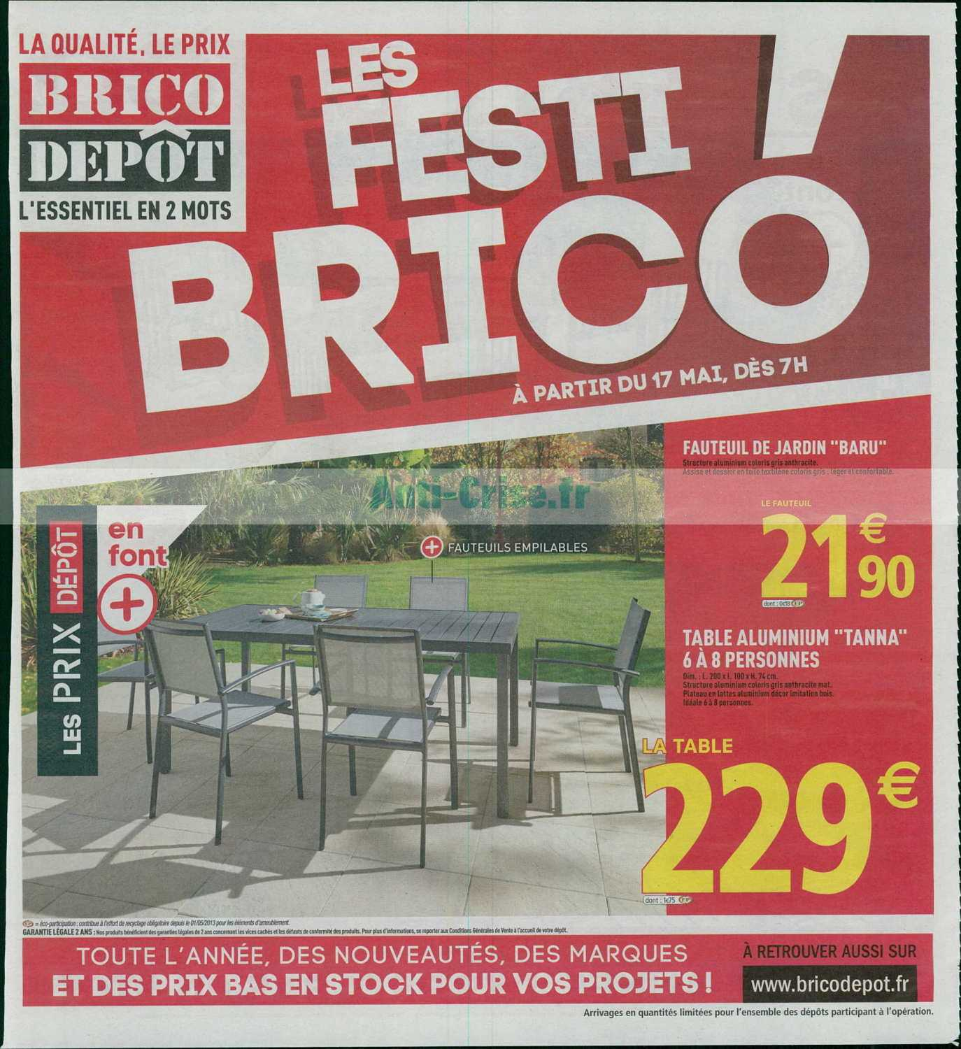 Catalogue Brico Dépôt Du 17 Au 30 Mai 2019 Catalogues