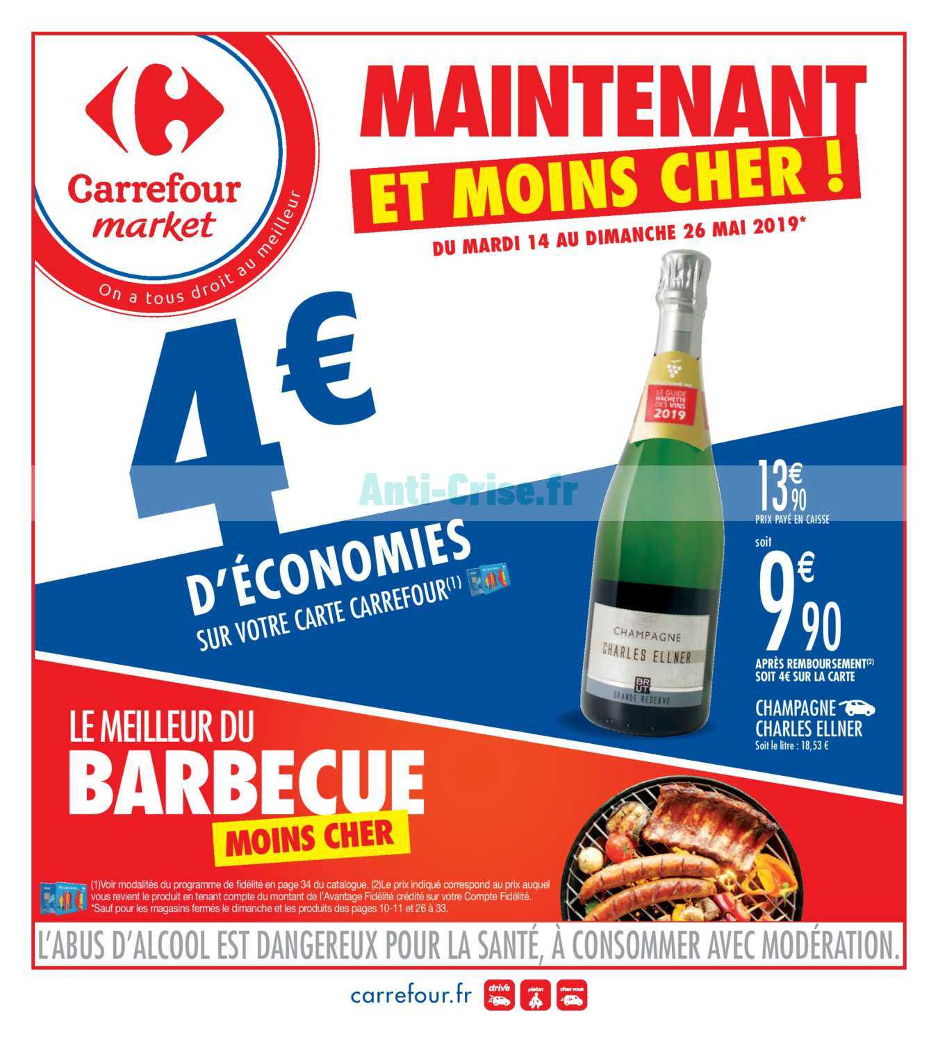 Catalogue Carrefour Market du 14 au 26 mai 2019 - Catalogues
