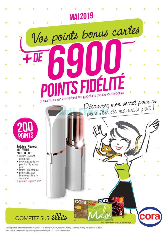 Carte Cora Et Points Fidelite.Catalogue Cora Du 01 Au 31 Mai 2019 Points Fidelite