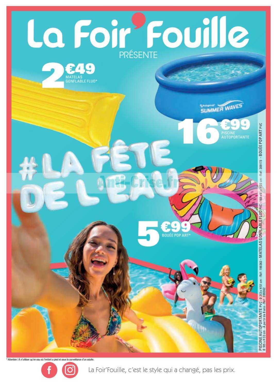 La Foir Fouille Le Nouveau Catalogue Du 20 Au 26 Mai 2019 Est Disponible Ne Ratez Pas Les Promos Du Catalogue