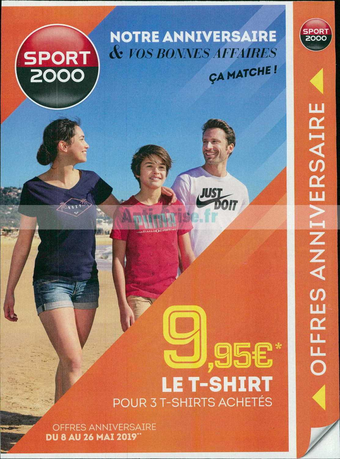 Catalogue Sport 2000 du 08 au 26 mai 2019 Catalogues