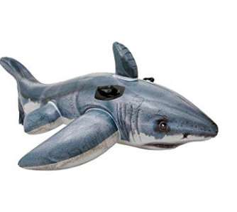 Pas cher à 6.64€ le requin gonflable Intex