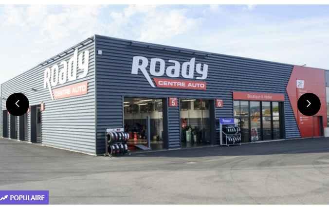 Roady : bon d'achat de 100€ avec 50% de réduction