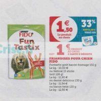 Friandises pour chiens Fido chez Hyper U (25/06 – 06/07)