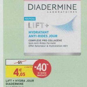 Soin Lift+ Diadermine chez Intermarché (18/06 – 23/06)