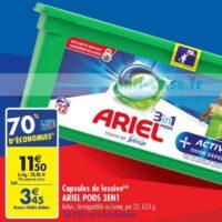 Lessive en Capsules Ariel chez Carrefour (18/06 – 24/06)