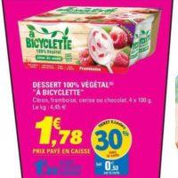 Dessert végétal a Bicyclette chez Leclerc Bretagne (25/06 – 29/06)
