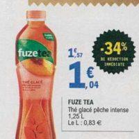 Thé Glacé Fuzetea chez Leclerc (18/06 – 29/06)