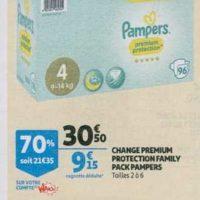Couches Pampers Premium chez Auchan (26/06 – 02/07)