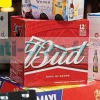 Pack de Bière Bud chez Carrefour (11/06 – 24/06)