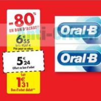 Dentifrice Oral-B chez Carrefour (22/06 – 24/06)