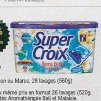 Lessive en Capsules Super Croix chez Leclerc (18/06 – 29/06)
