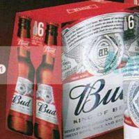 Pack de bière 6x25cl Bud chez Leclerc Centre-Est (25/06 – 06/07)