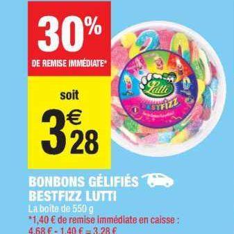 Bonbons Lutti chez Carrefour Market (18/06 – 30/06)