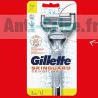 Rasoir Skinguard Gillette chez Carrefour (13/06 – 14/06)
