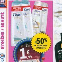 Shampoing Dove chez Leclerc Centre-Est (25/06 – 06/07)