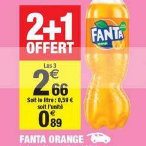 Fanta Orange chez Carrefour Market (24/06 – 30/06)