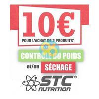 Offre de Remboursement STC Nutrition : 10€ Remboursés en bon d'achat
