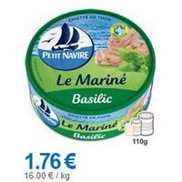 Emietté de Thon Le Mariné Petit Navire partout (24/06 – 29/07)