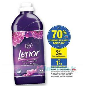 Assouplissant Lenor chez Carrefour Market (11/06 – 23/06)