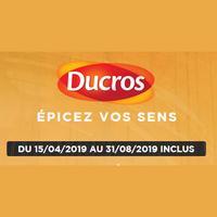 Offre de Remboursement Ducros : 10€ Remboursés en Bons