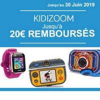 Offre de Remboursement VTech : Jusqu'à 20€ remboursés sur la Collection Kidizoom