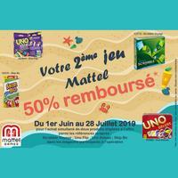 Offre de Remboursement Mattel : 2ème Jeu 50% Remboursé