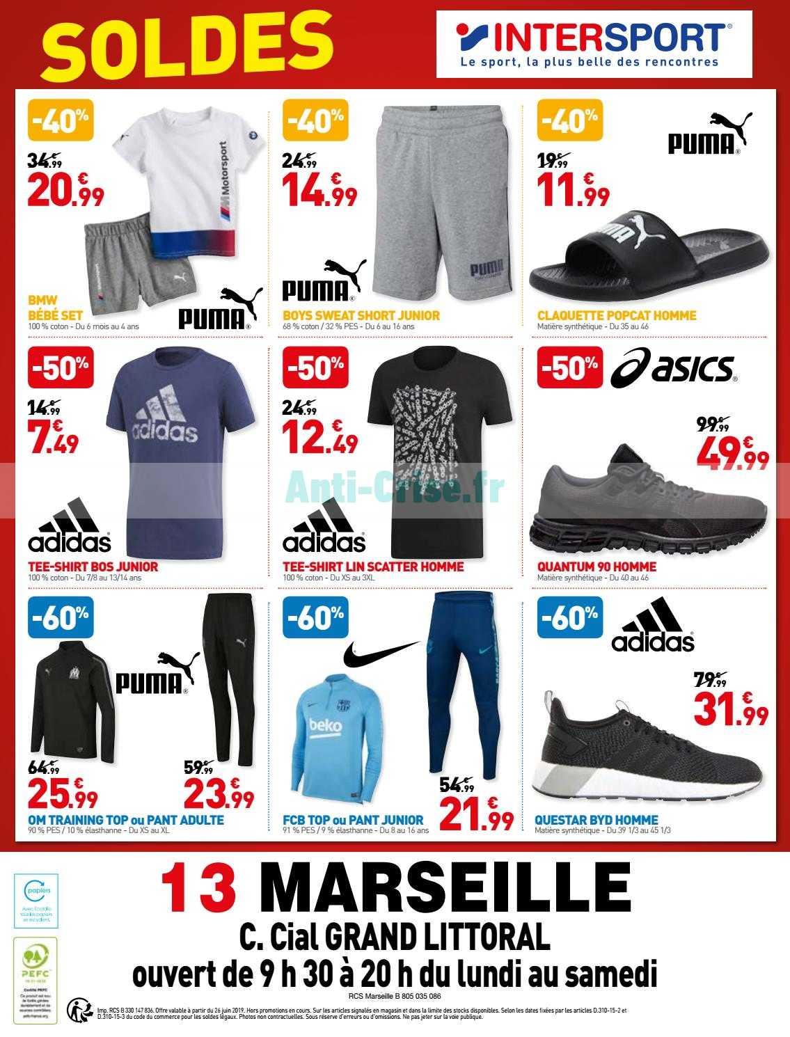 Catalogue Intersport Du 26 Juin Au 06 Aout 2019 Catalogues Promos Bons Plans Economisez Anti Crise Fr
