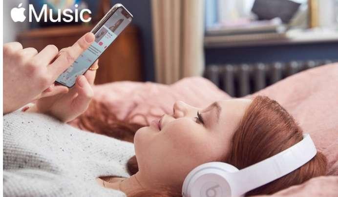 Apple Music : 4 mois gratuits