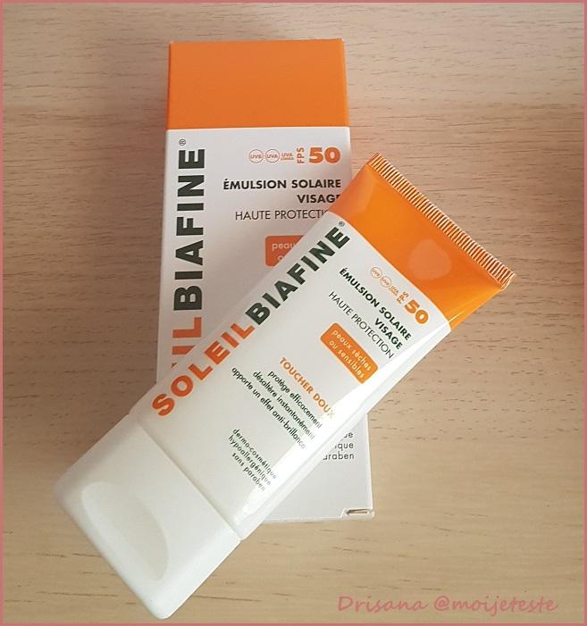 emulsion visage SoleilBiafine - anti-crise.fr