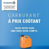 Leclerc : Carburant à Prix Coûtant tous les Samedis et Dimanches (29/06 – 01/09)
