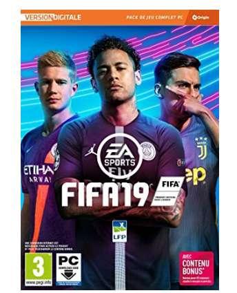 12,99€ le jeu FIFA 19 pour PC