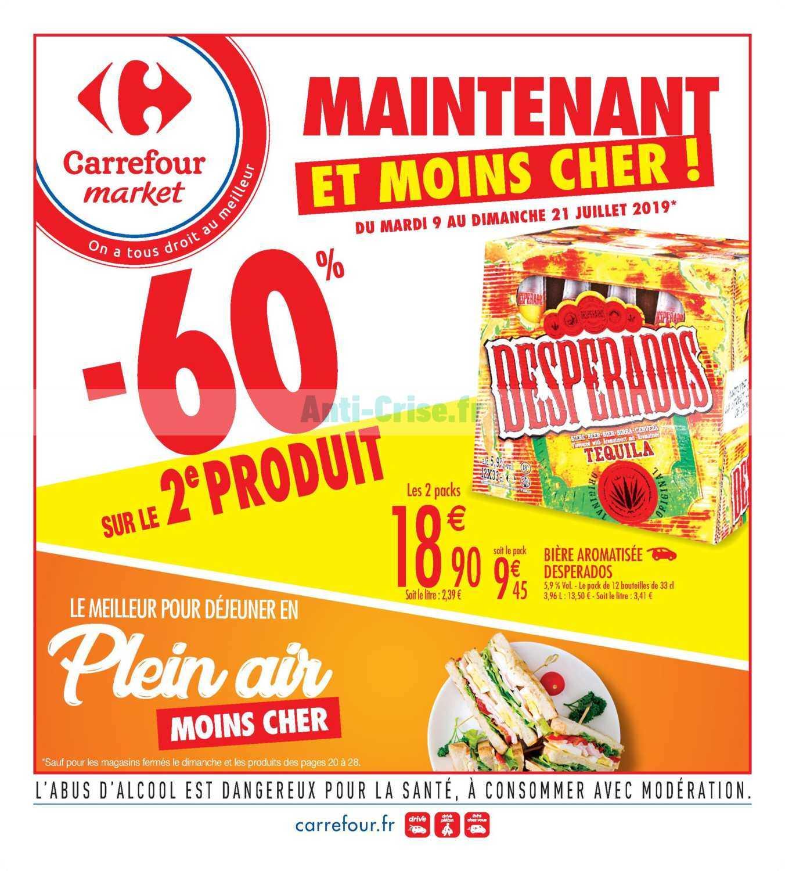 Catalogue Carrefour Market du 09 au 21 juillet 2019