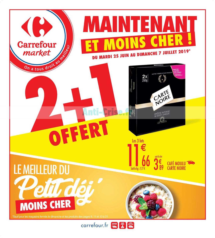 Catalogue Carrefour Market du 25 juin au 07 juillet 2019